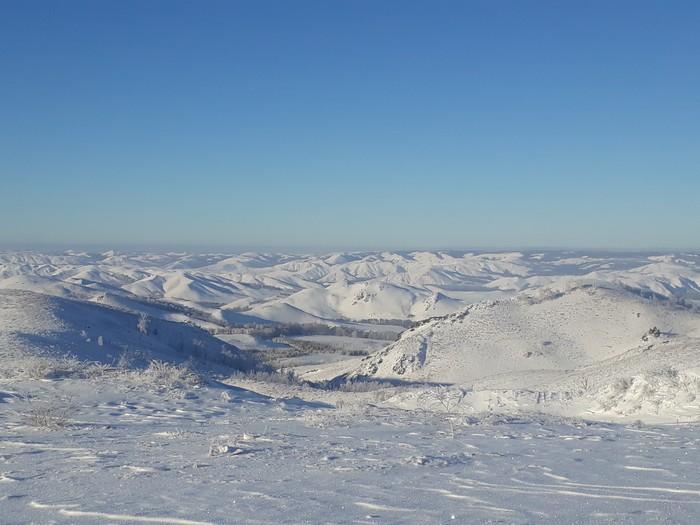 Немного фото природы южного урала Природа, Зима, Длиннопост