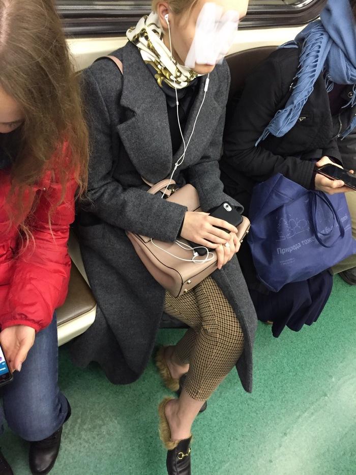 Мода, ты серьёзно? Мода, Тапки, Метро, Москва, Осень, Длиннопост