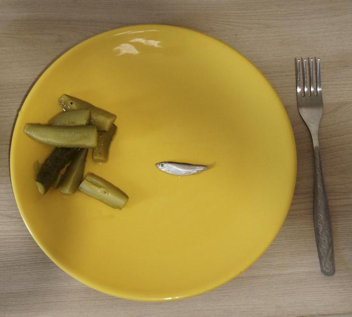Сегодня у нас на ужин рыба