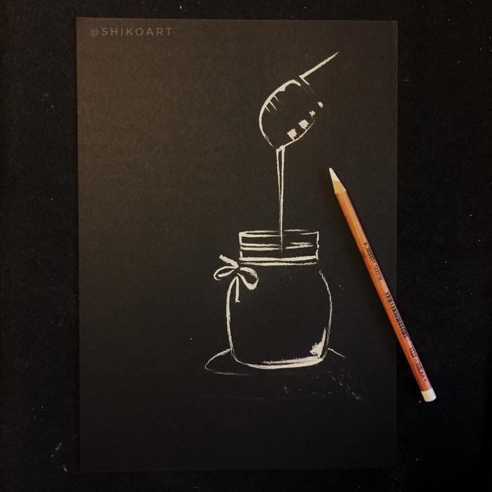 Урок рисования сухой пастелью Творчество, Рисунок, Еда, Уроки рисования, Пастель, Интересное, Длиннопост