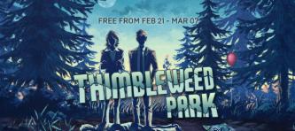 Thimbleweed Park Халява, Epic Games, Epic Games Store, Раздача, Раздача игр, Не Steam
