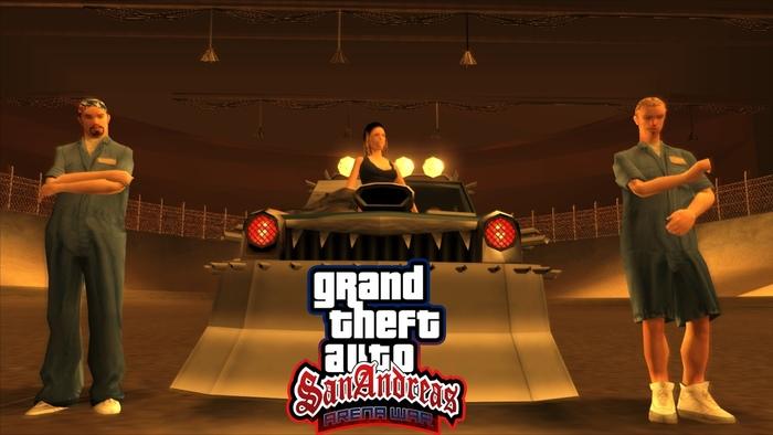 Как я модифицирую старые части GTA (часть 2): SA Arena War GTA 5, GTA Online, Gta: San Andreas, Модификации, Видео, Длиннопост