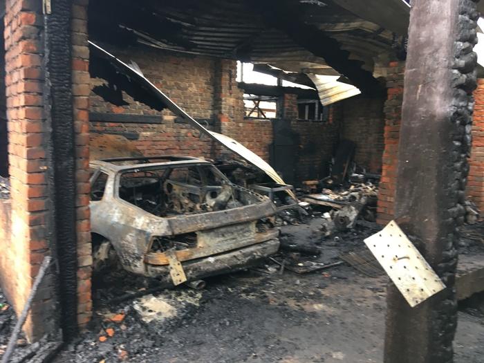 А у нас вчера такое... Пожар, Машина, Porsche, Длиннопост