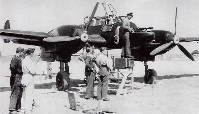 Bf-110.Лучший штурмовик рейха. Вторая мировая война, Германия, Штурмовик, Bf-110, Длиннопост