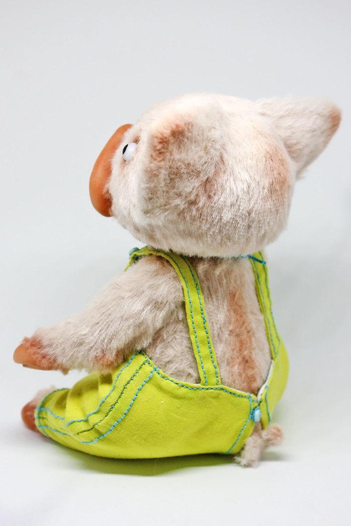 Поросенок Свинья, Рукоделие без процесса, Поросята, Друзья тедди, Тедди, Коллекционные игрушки, Ручная работа, Длиннопост