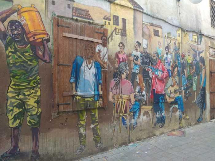 На старых улицах Никосии Кипр, Никосия, Стрит-Арт, Длиннопост