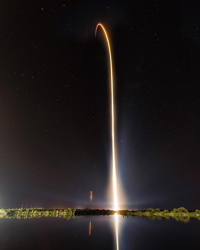 Демонстрационный запуск космического корабля Dragon от SpaceX