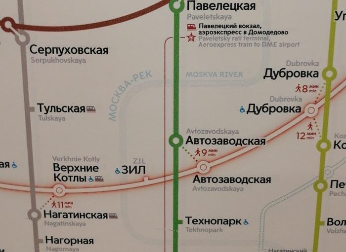 Прогнулись под запад Москва-Река, Карта метрополитена