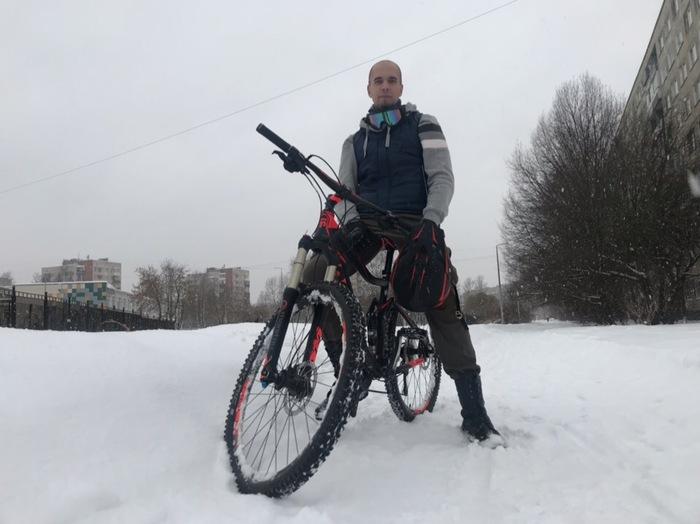 Когда ну очень хочется весны... Весна, Велосипед, Санкт-Петербург