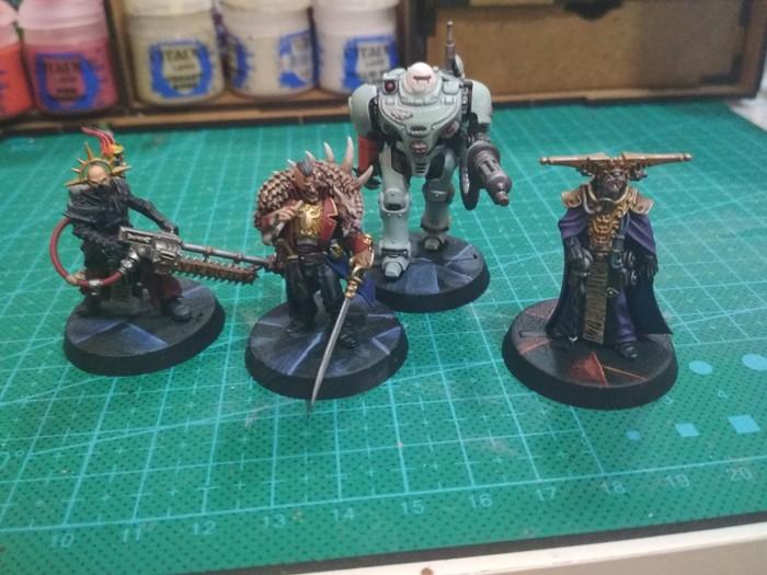 Модели Warhammer 40k Warhammer 40k, Миниатюра, Покраска миниатюр, Покраска