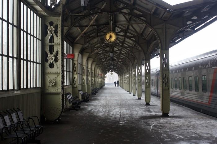 Витебский вокзал, Санкт-Петербург. Фотография, Санкт-Петербург, Время, Длиннопост, Вокзал, Витебский вокзал