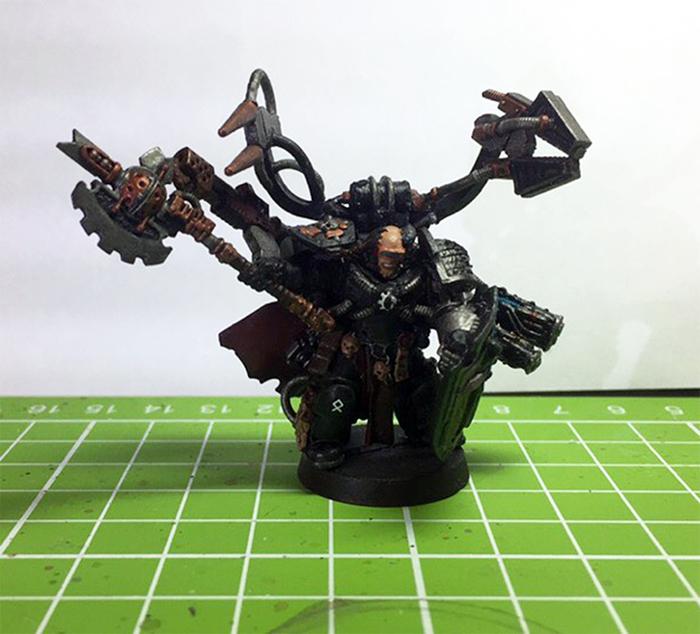 Мои первые пробы в покрасе миниатюр Warhammer Длиннопост, Warhammer 40k, Wh miniatures, Миниатюра, Покраска миниатюр