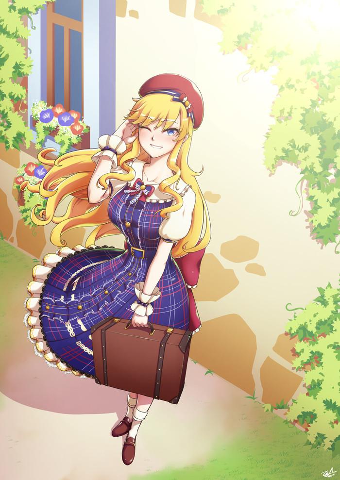 Аниме арты Аниме, Anime Art, Original, Pixiv Fantasia: Last Saga, The Idolmaster: Cinderella Gir, Pixiv, Длиннопост