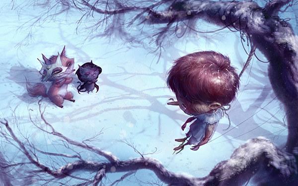 Пиноккио. Иллюстрации Тами Куо. Арт, Иллюстрации, Tami Kuo, Пиноккио