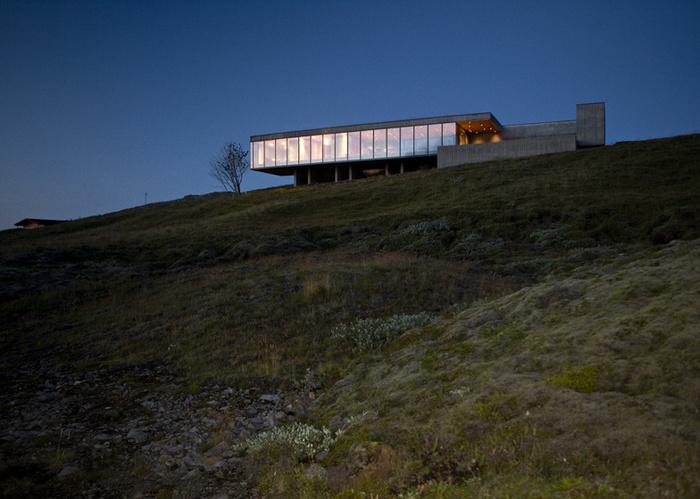 Дом недалеко от Рейкьявика Дом, Исландия, Длиннопост