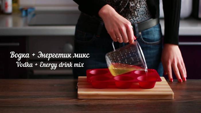 Желейные Шоты Алкоголь, Видео, Длиннопост, Рецепт, Коктейль, Желе