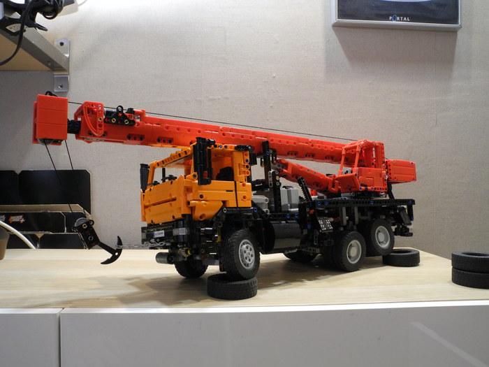 Камаз 65115 автокран (лего самоделка) LEGO, LEGO technic, Видео, Длиннопост