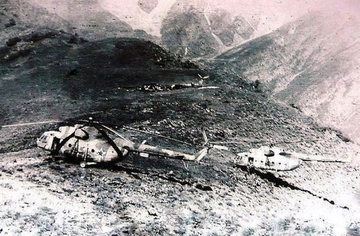 Ошибка вертолётчика Война в Афганистане, История, Инцидент, Авиация, Военная авиация, Длиннопост