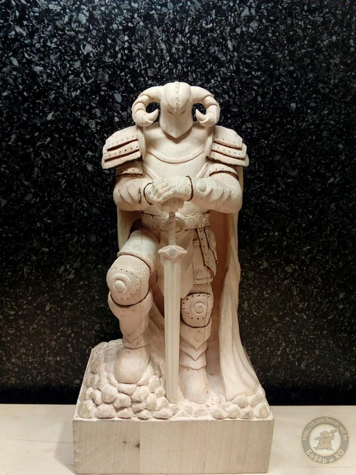 Хакуна матата. Ð¡ вами снова поеÑавший на фентези бобёр. Пост по этому рогатику уже был, но без процесса всего  сумасшествия. The Elder Scrolls, Своими руками, Рукоделие с процессом, Резьба по дереву, Скульптура, Ручная работа, Wood, Длиннопост