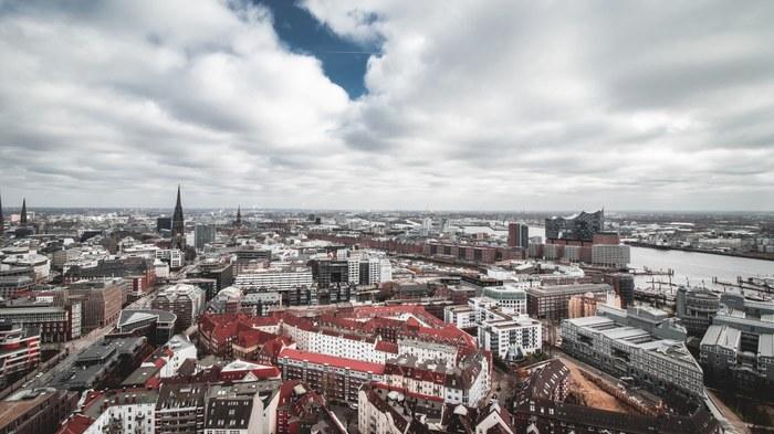 Лучший вид на Гамбург? Гамбург, Германия, Видео, Фотография, Церковь, Святые