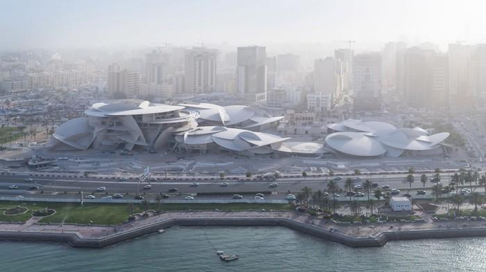 Национальный музей Катара. Катар, Доха, Архитектура, Современная архитектура, Длиннопост, Национальный музей Катара