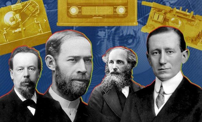 Полтора века истории радио за четыре шага Наука, Познавательно, Техника, Интересное, Технологии, История создания, Радио, Длиннопост