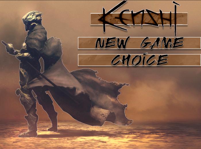 Kenshi - выбор предыстории Kenshi, Игры, RPG, Гайд, Длиннопост, Начало, Выбор