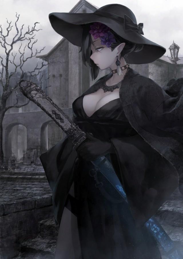 """""""Черная вдова"""" Аниме, Рисунок, Показалось, Anime Art"""
