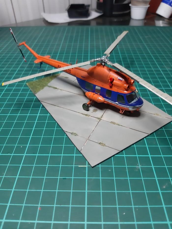 Вертолет Ми-2 Стендовый моделизм, Вертолеты России, Ми-2, Авиация, Модели, Длиннопост