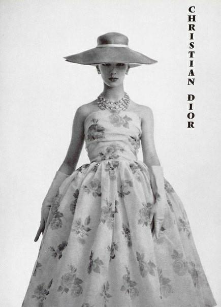 Christian Dior, 1950-е Dior, Красивые платья, Винтаж, 50-е, Мода, Длиннопост