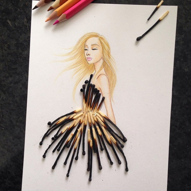 Платья арт дизайн