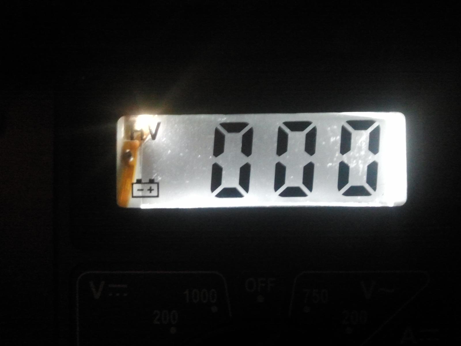 Мультиметр подсветка своими руками