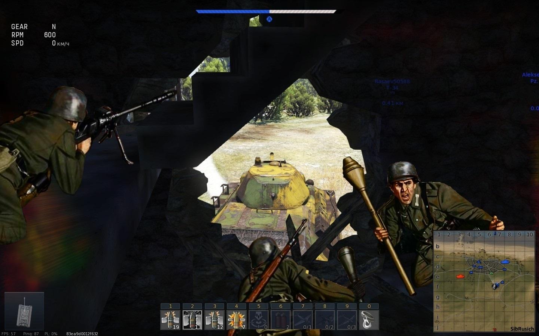 вар тандер игра за пехоту