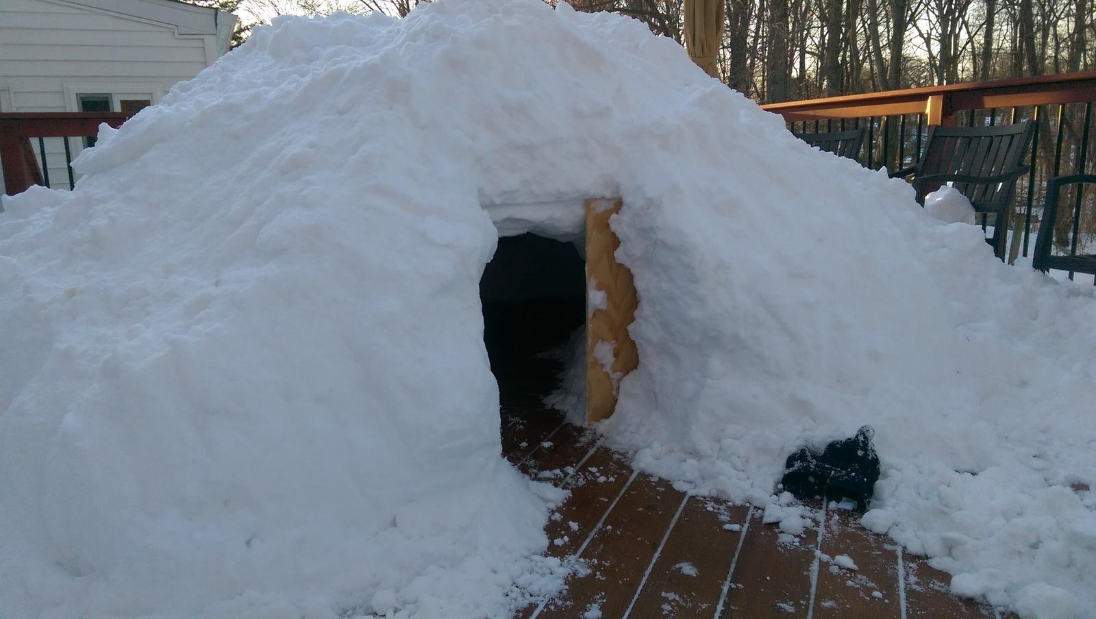 Домики ледяные своими руками фото 708