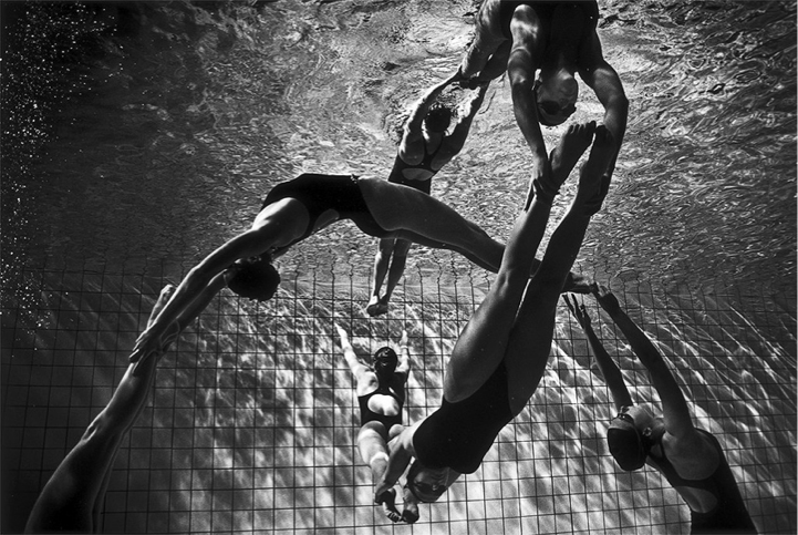 черно-белые фото спорт