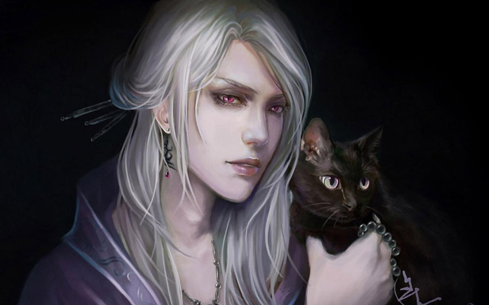 Демон-хранитель Ахерон с Люцифером