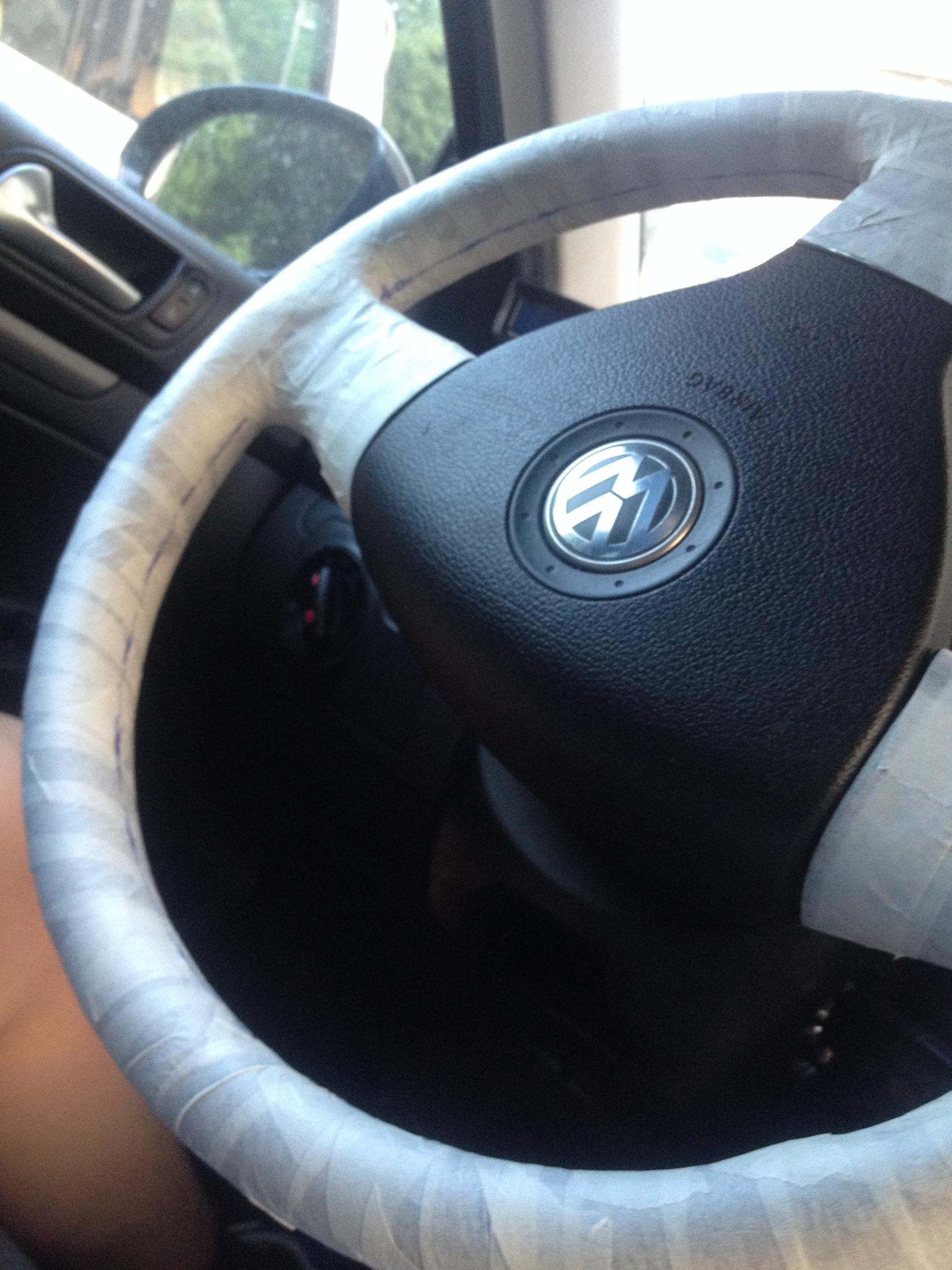 Обтянуть руль своими руками фото 983