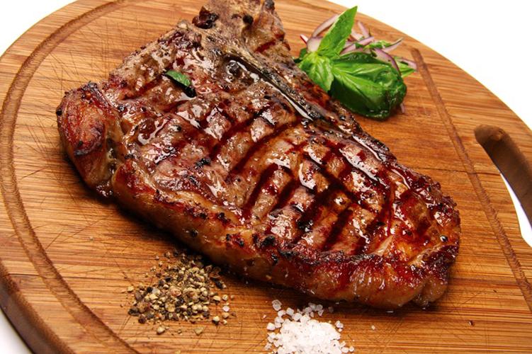 жареное мясо по английски