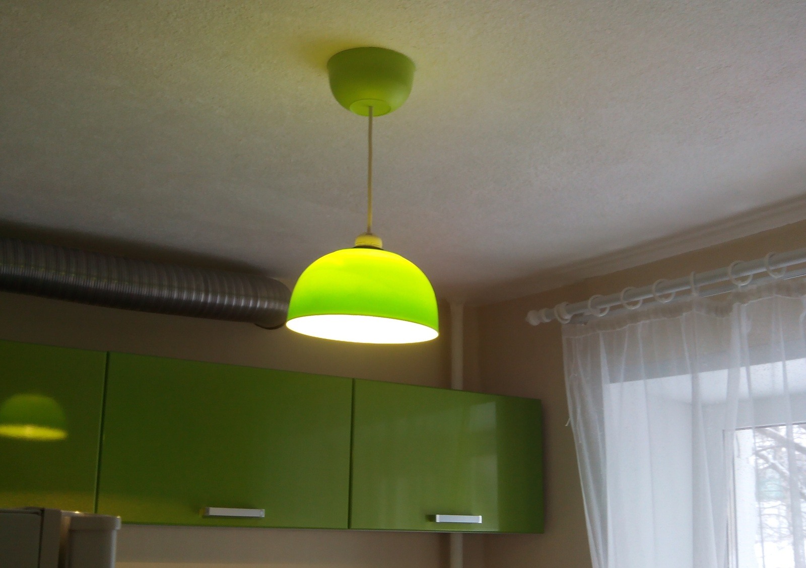 Абажур для люстры на кухне своими руками фото 638