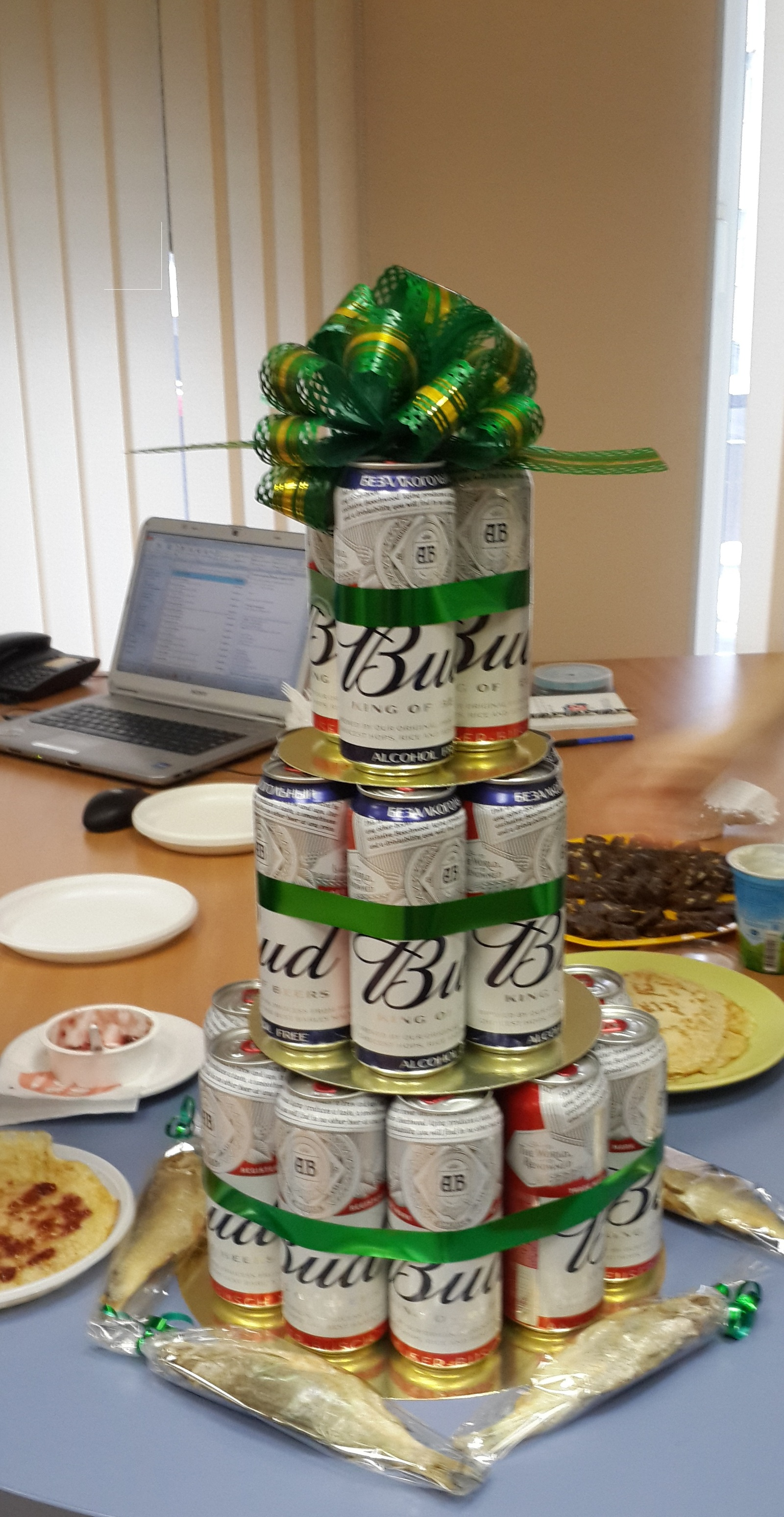 Подарок своими руками торт из пива