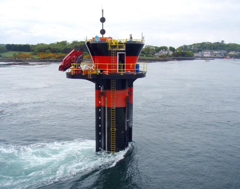 Генератор подводный турбинный мне