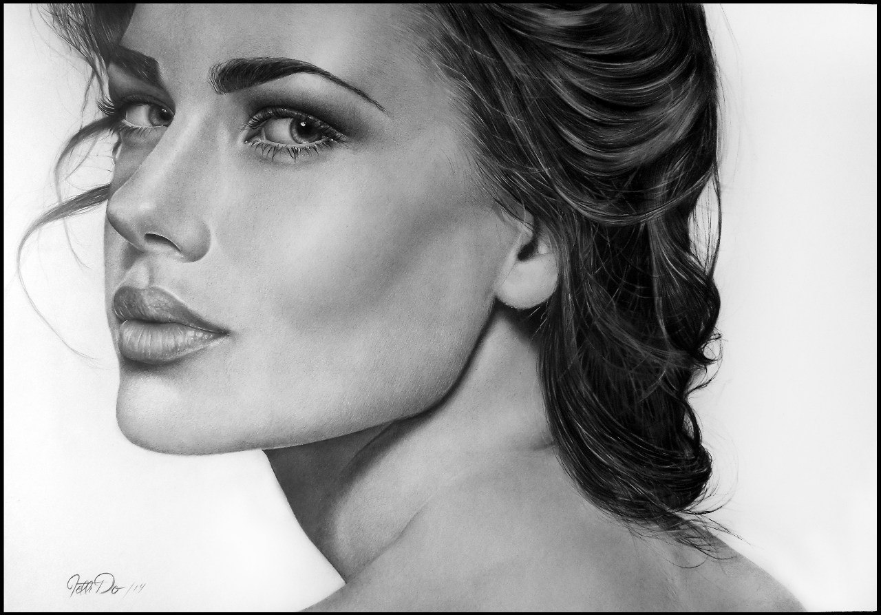 картинки портреты девушек
