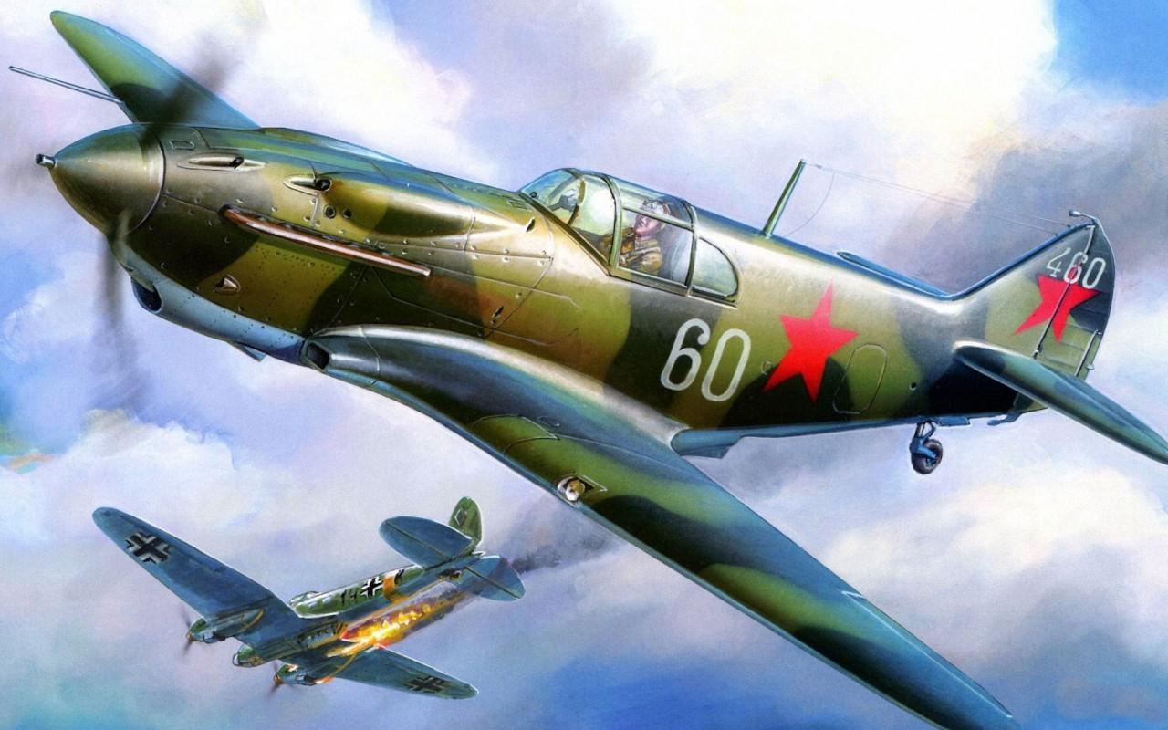 Обои Вторая мировая, истребитель, британский, spitfire, пилоты, рисунок. Авиация foto 18