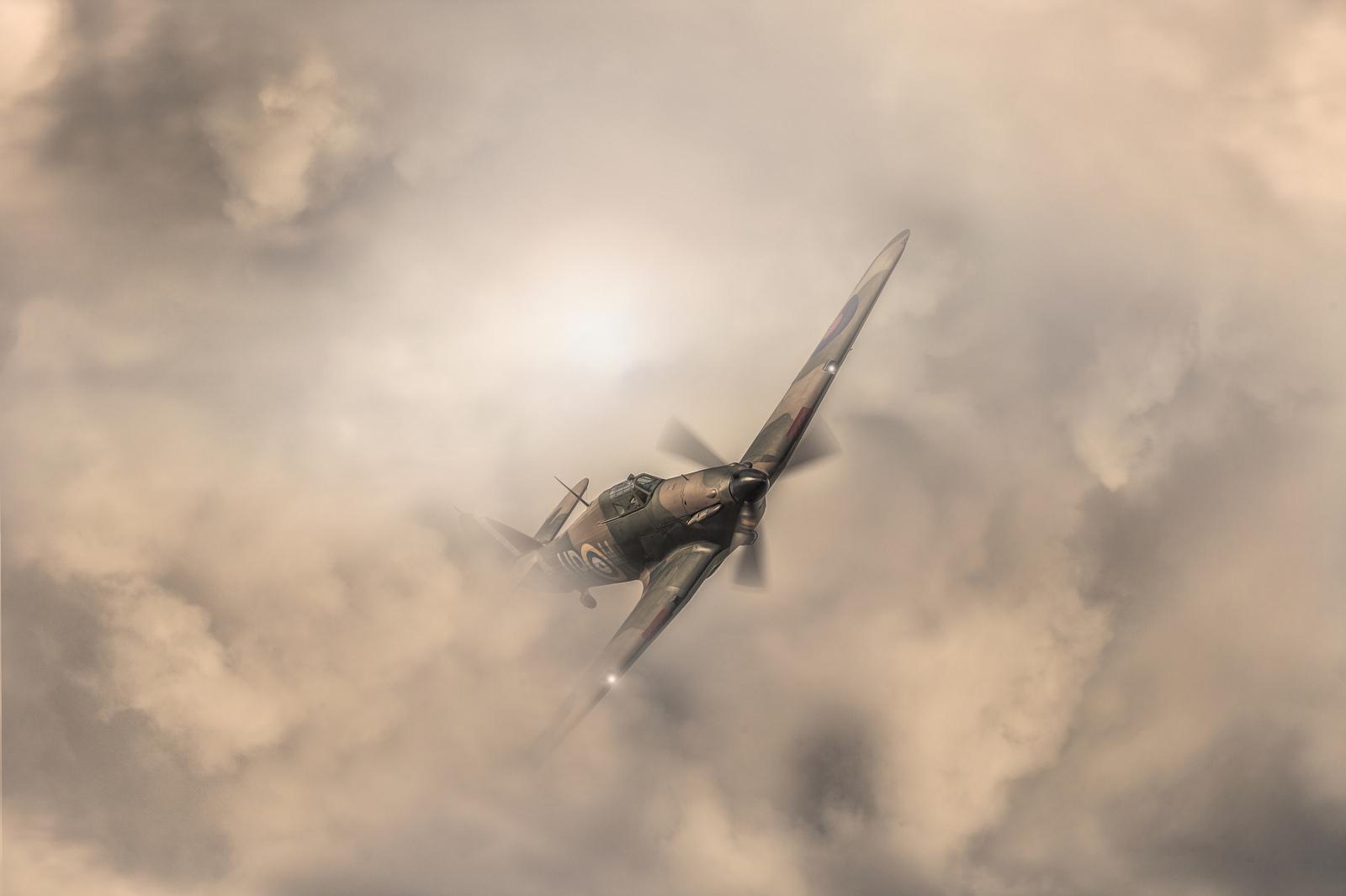 Обои земля, Облака, битва, самолеты, война. Авиация foto 10