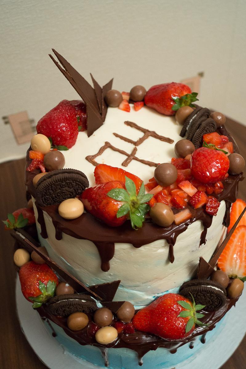 Торт своими руками большой