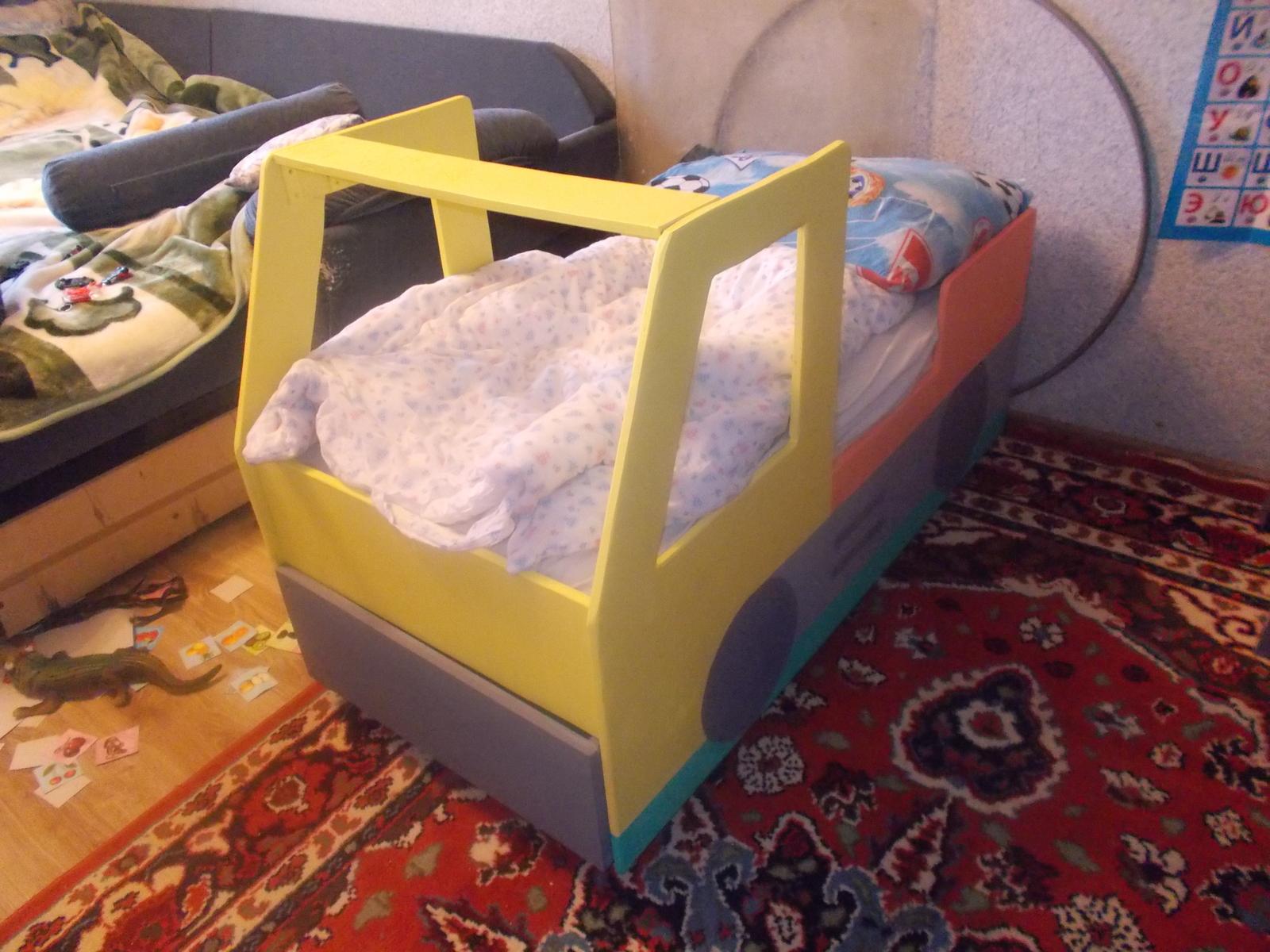 Как сделать кроватку своими руками машинку фото 114