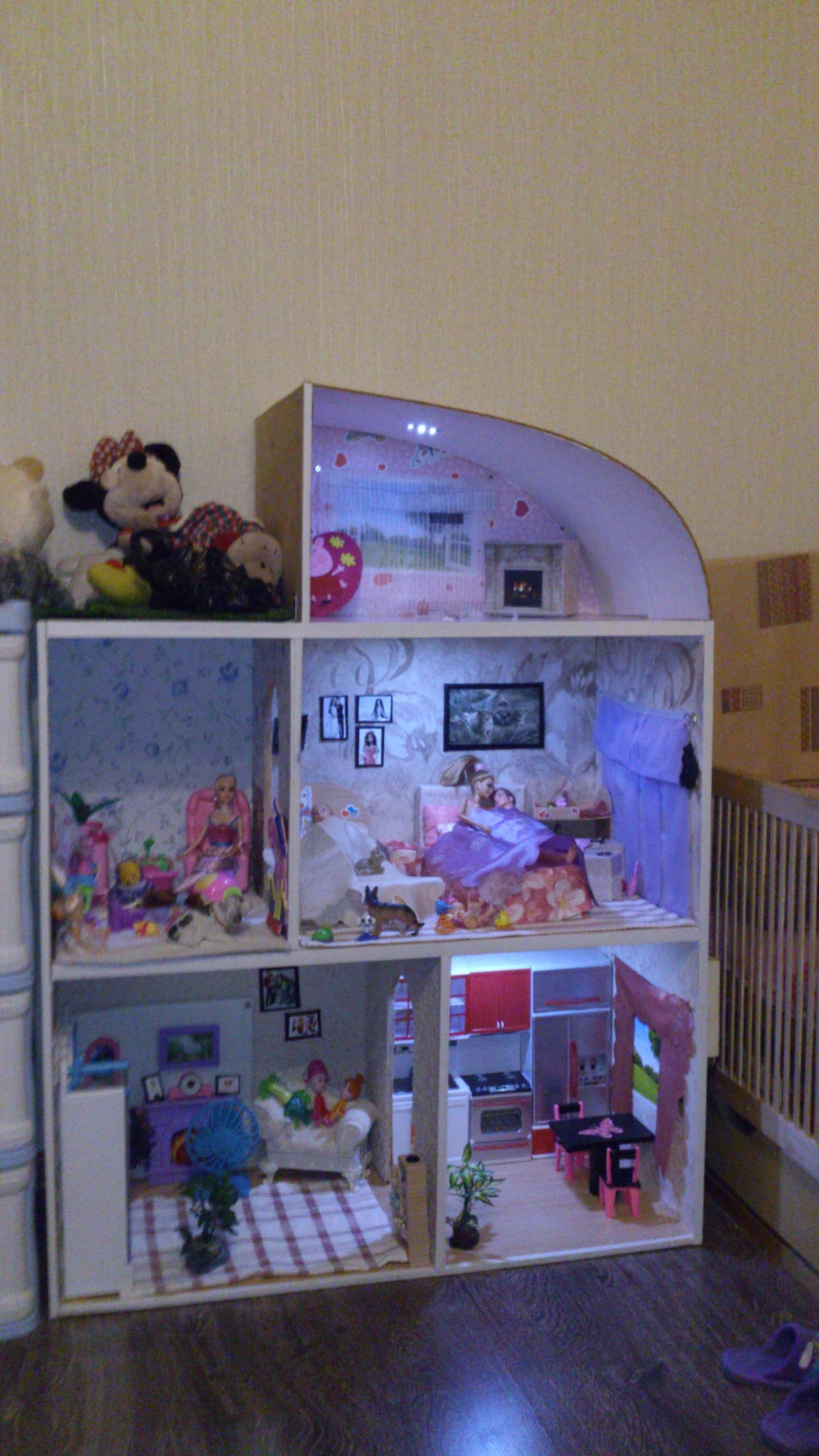 Мой дом для кукол своими руками фото фото 252
