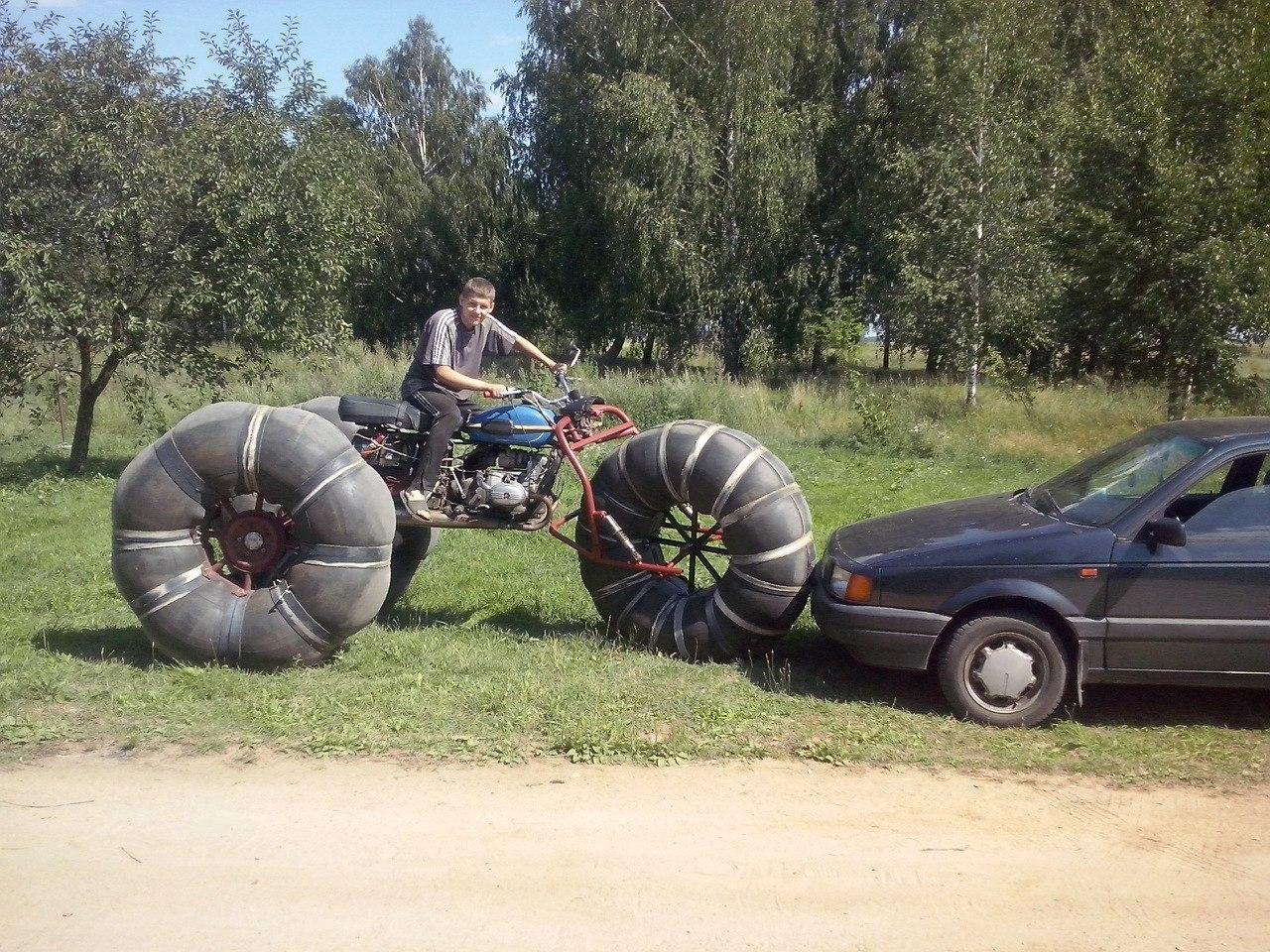 Каракат из мотоцикла своими руками фото 888