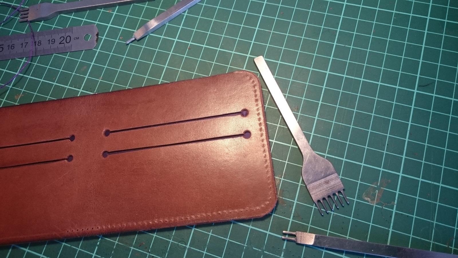 Выкройка бумажника своими руками