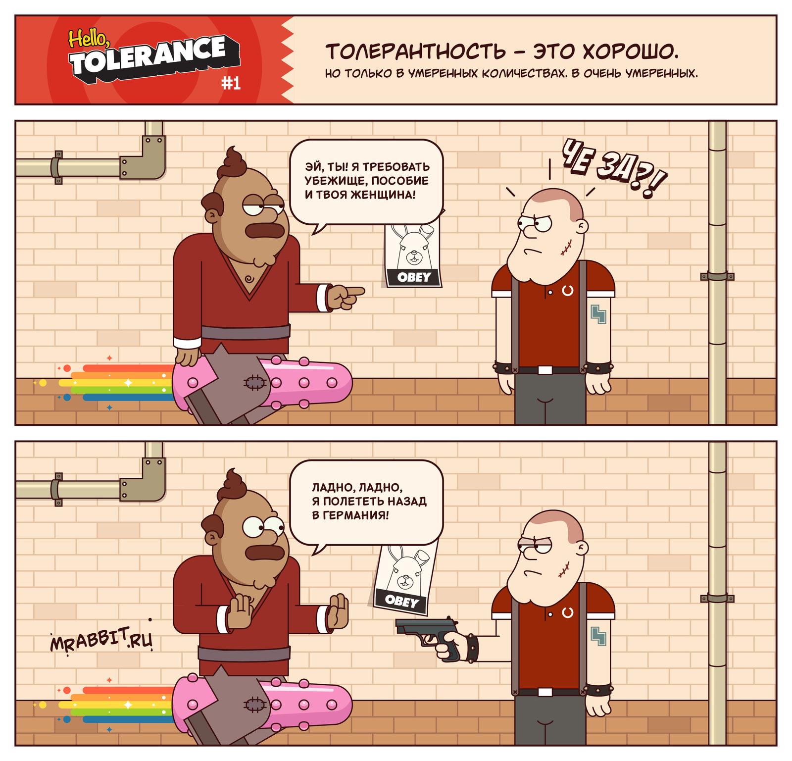 О плохой и хорошей толерантности